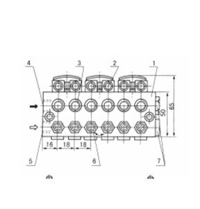 YHQ1型单线油气混合器:(VOE)