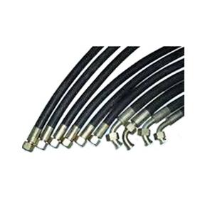 锥密封钢丝(及棉线)编织胶管总成 锥密封胶管接头螺纹接头