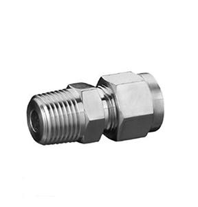 卡套式锥螺纹直通管接头(16MPa)